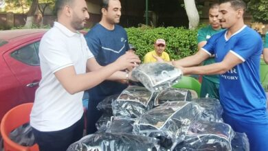 Photo of النائب محمد تيسير مطر يزور الفريق الأول للمصرى القاهرى لمؤازرته قبل بدء الدورى